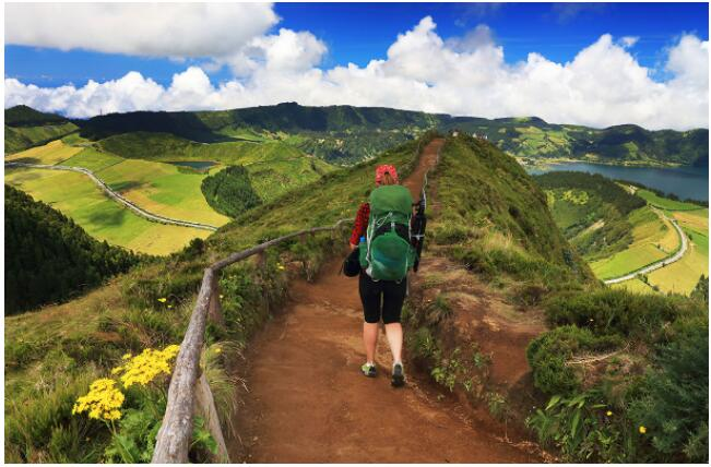The winding paths of the Azores are a hiker's dream